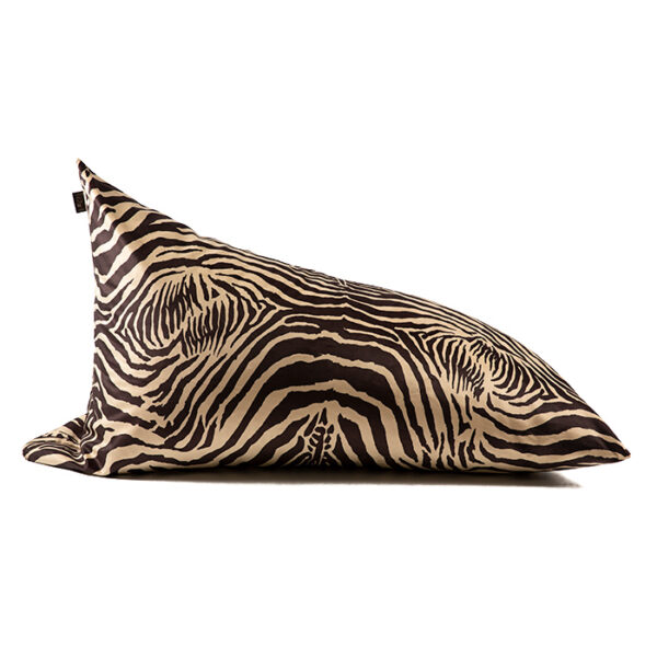 puffart-king-size- brown-zebra