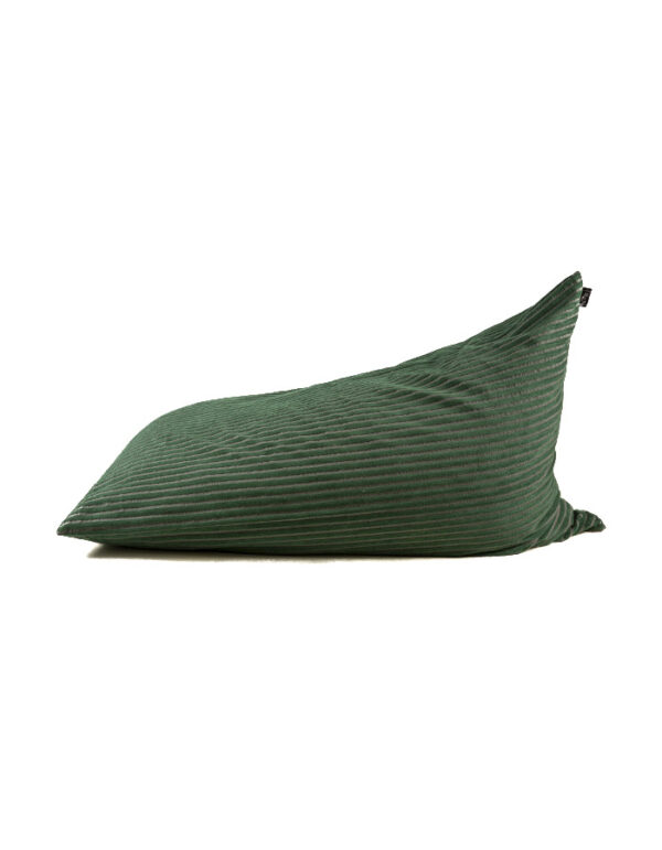 puffart-king-size-green-&-gray-stripes